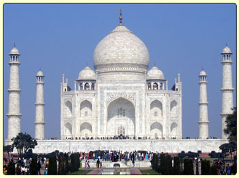 taj mahal india, photo by rajan simkhada, 12 days india tour